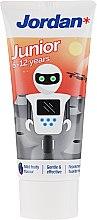 Парфюмерия и Козметика Детска паста за зъби 6-12 год., робот - Jordan Junior Toothpaste