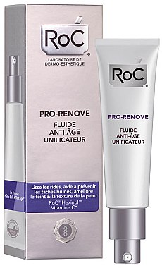 Изравняващ флуид за лице - RoC Pro-Renove Anti-Ageing Unifying Fluid — снимка N1