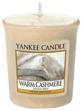 Ароматна свещ - Yankee Candle Warm Cashmere