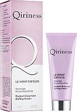 Парфюмерия и Козметика Почистващ крем за лице - Qiriness Radiant Enzymatic Buffing Cream