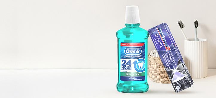 При покупка на продукти Blend-a-med, Blend-A-Dent и Oral-B за сума над 12 лв. получавате подарък паста за зъби