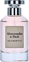 Парфюмерия и Козметика Abercrombie & Fitch Authentic Women - Парфюмна вода (тестер с капачка)