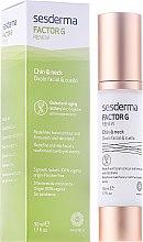 Парфюмерия и Козметика Подмладяващ крем за лице и шия - SesDerma Laboratories FactorG Renew Oval face & Neck