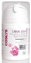 Парфюмерия и Козметика Дневен крем за лице, за суха и чувствителна кожа с екстракт от роза - Coslys Facial Care Facial Day CreamWith Organic Rose Floral Water