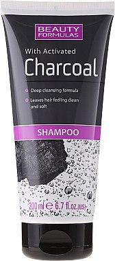 Шампоан с активан въглен - Beauty Formulas Charcoal Shampoo