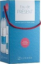 Парфюми, Парфюмерия, козметика Luxana Eau De Present - Комплект тоалетна вода (edt/1000ml + edt/50ml)