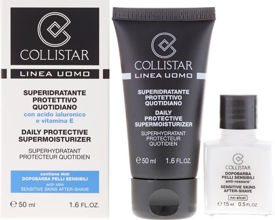 Комплект - Collistar Daily Protective Supermoisturizer (cr/50ml + cr/15ml) — снимка N1