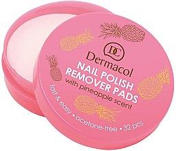 Парфюми, Парфюмерия, козметика Тампони за премахване на лак за нокти - Dermacol Nail Polish Remover Pads