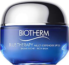 Парфюмерия и Козметика Крем за лице за суха кожа - Biotherm Blue Therapy Multi Defender SPF 25