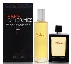 Парфюми, Парфюмерия, козметика Hermes Terre d'Hermes - Комплект (парфюмна вода/30ml + парфюмна вода/125ml)
