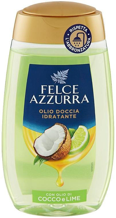 Душ масло с кокос и лайм - Felce Azzurra Shower Oil — снимка N1
