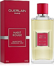 Парфюми, Парфюмерия, козметика Guerlain Habit Rouge - Тоалетна вода