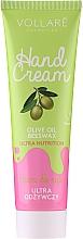 Парфюмерия и Козметика Подхранващ крем за ръце - Vollare Cosmetics De Luxe Hand Cream Ultra Nutrition