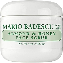 Парфюмерия и Козметика Скраб за лице с мед и бадеми - Mario Badescu Almond & Honey Non Abrasive Face Scrub