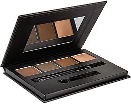 Парфюмерия и Козметика Палитра за вежди - Bellapierre Cosmetics Brow Palette