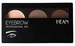 Парфюми, Парфюмерия, козметика Сенки за вежди - Hean Professional Eyebrow Set 2