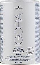 Парфюмерия и Козметика Изсветляващ прах - Schwarzkopf Professional Igora Vario Blond Plus