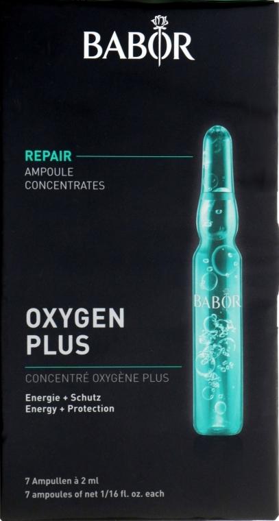 Ампули с витализиращ кислороден флуид - Babor Ampoule Concentrates Oxigen Plus — снимка N1