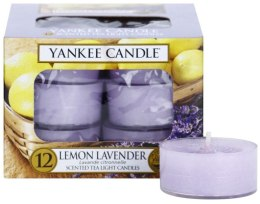 Парфюми, Парфюмерия, козметика Чаени свещи - Yankee Candle Scented Tea Light Candles Lemon Lavender