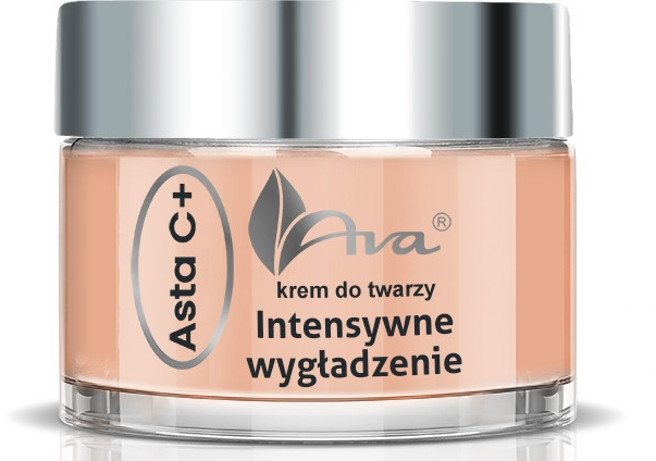 Нощен крем за лице - Ava Laboratorium Asta C+ Intensive Smoothing