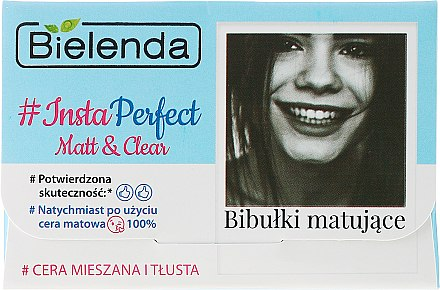 Матиращи кърпички за лице - Bielenda #Insta Perfect Matt&Clear — снимка N1
