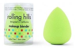 Парфюмерия и Козметика Гъба за грим, зелена - Rolling Hills Makeup Blender Green