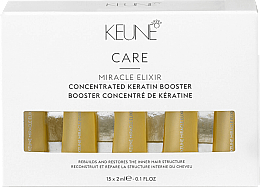 Парфюмерия и Козметика Кератинов бустер за коса - Keune Care Miracle Elixir Concentrated Keratin Booster