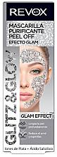 Парфюмерия и Козметика Сребърна пилинг маска за лице - Revox Glitz & Glow Purifying Mask Peel Off