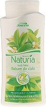 Парфюмерия и Козметика Балсам за тяло със зелен чай - Joanna Naturia Body Balm