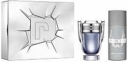 Парфюми, Парфюмерия, козметика Paco Rabanne Invictus - Комплект (тоал. вода/100ml + део спрей/150ml)