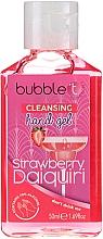 """Парфюмерия и Козметика Антибактериален гел за ръце """"Ягодово дайкири"""" - Bubble T Cleansing Hand Gel"""