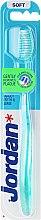 Парфюми, Парфюмерия, козметика Четка за зъби мека Target, зелена - Jordan Target Teeth & Gums Soft