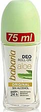 Парфюмерия и Козметика Рол-он дезодорант с Алое Вера - Babaria Aloe Vera Original Deodorant Roll-on