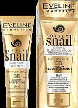 Парфюмерия и Козметика Матиращ ВВ крем - Eveline Cosmetics Royal Snail BB Cream 8in1