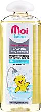 Парфюмерия и Козметика Детски успокояващ шампоан за коса - Moi Bebe Happy & Sleepy Calming Baby Shampoo