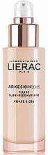 Парфюмерия и Козметика Нощен подхранващ и възстановяващ флуид за лице - Lierac Arkeskin Night Fluide Nutri-redensifiant