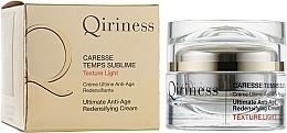 Парфюмерия и Козметика Възстановяващ антистареещ крем с комплексно действие за лице - Qiriness Caresse Temps Sublime Light