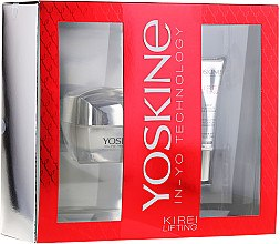 Парфюмерия и Козметика Комплект за лице - Yoskine Kirei Lifting 60+ (крем/50ml + околоочен крем/15ml)