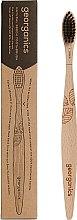 Парфюми, Парфюмерия, козметика Бамбукова четка за зъби - Georganics Charcoal Soft Toothbrush