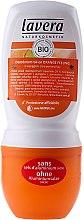 Парфюми, Парфюмерия, козметика Рол-он дезодорант с аромат на портокал - Lavera 24h Deodorant