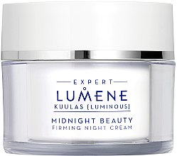 Парфюми, Парфюмерия, козметика Нощен подсилващ крем - Lumene Kuulas Midnight Beauty Firming Night Cream