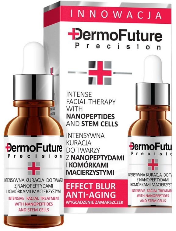 Серум за лице със стволови клетки и нанопептиди - DermoFuture Intensive Face Treatment