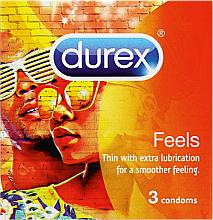 Парфюмерия и Козметика Презервативи, 3 бр. - Durex Feels