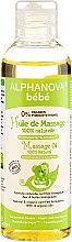 Парфюмерия и Козметика Масажно масло за деца и новородени - Alphanova Bebe Massage Oil 100% Natural