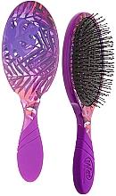 Парфюмерия и Козметика Четка за коса - Wet Brush Pro Detangler Neon Summer Tropics Purple