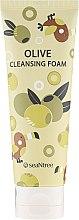 Парфюми, Парфюмерия, козметика Почистваща пяна за лице с маслина - SeaNtree Olive Cleansing Foam