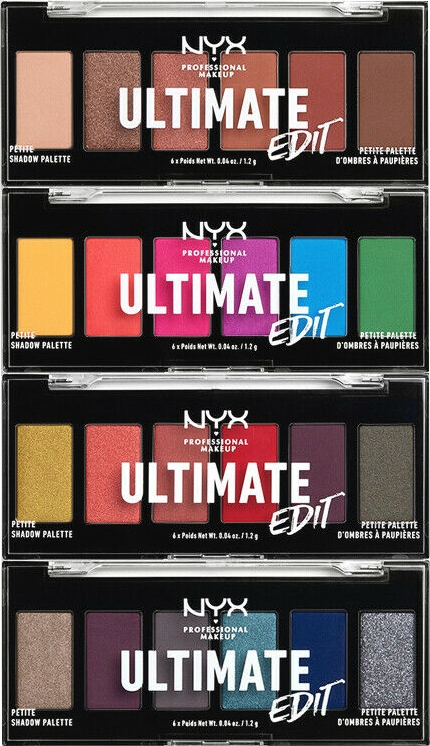 Палитра сенки за очи - NYX Professional Makeup Ultimate Edit Petite Shadow Palette