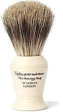 Парфюмерия и Козметика Четка за бръснене, P374 - Taylor of Old Bond Street Shaving Brush Pure Badger size S