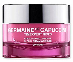 Парфюмерия и Козметика Крем против бръчки - Germaine de Capuccini TimExpert Rides Supreme Global Cream Wrinkles