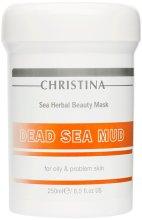 Парфюми, Парфюмерия, козметика Кална маска за мазна кожа - Christina Sea Herbal Beauty Dead Sea Mud Mask